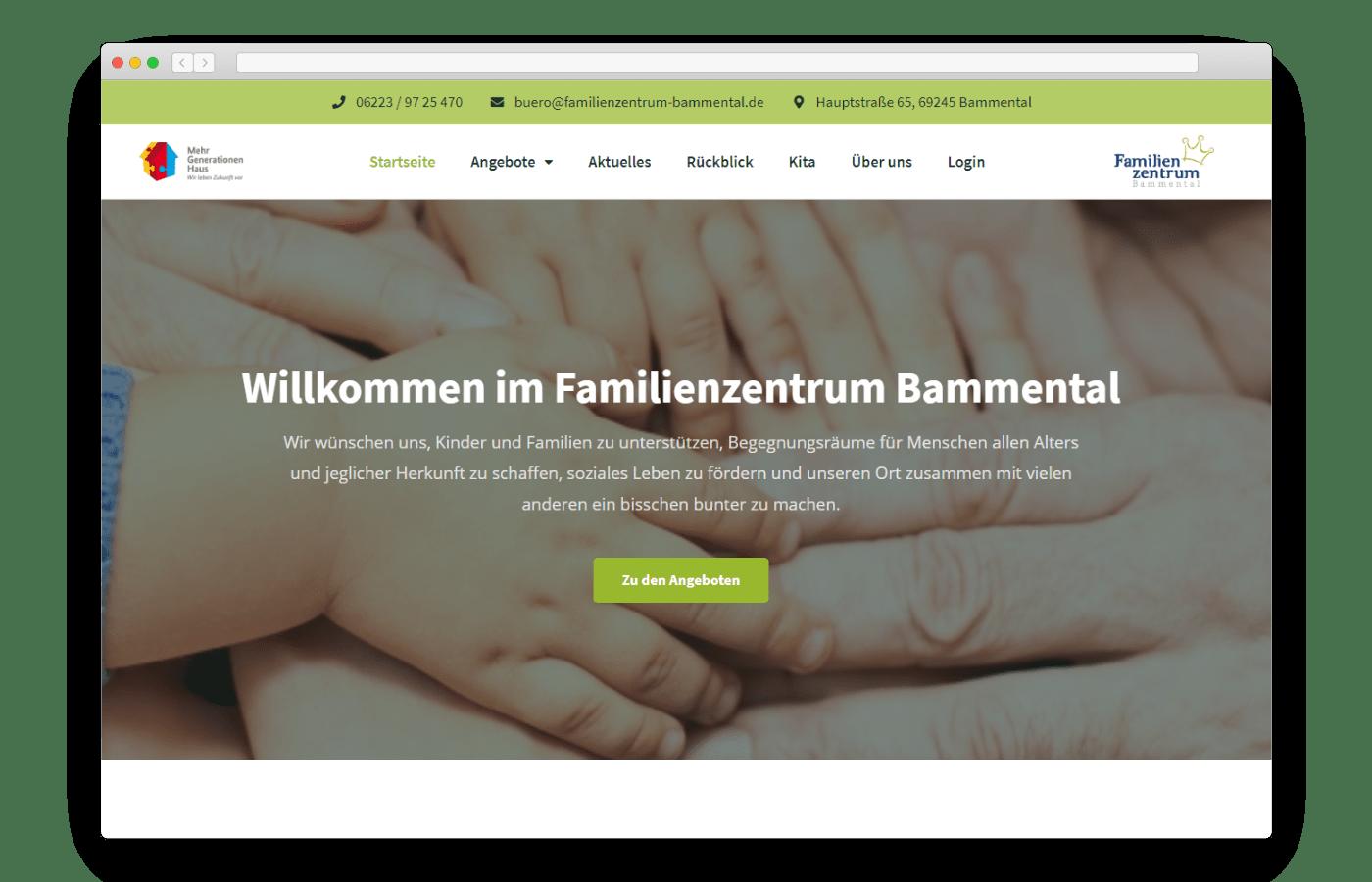Mockup von familienzentrum-bammental.de