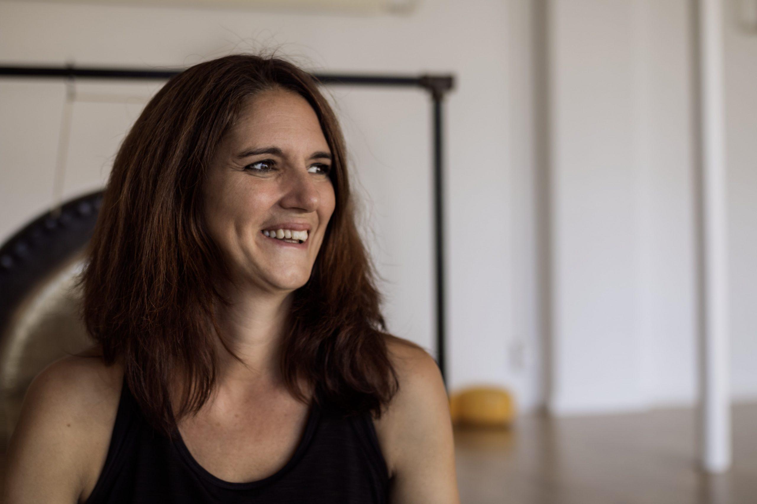 Simone Mülbert (Inhaberin Yoga Inspirit in Wiesenbach)